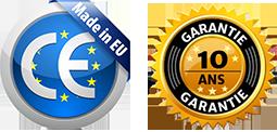 MRT Fabriqué en Europe - Garantie 10 ans